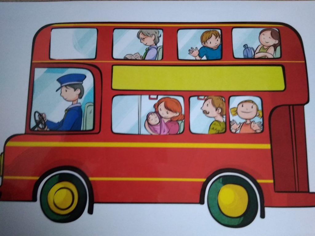 Red Bus- czerwony autobus