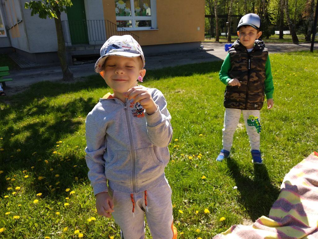 zajęcia w ogrodzie przedszkolnym